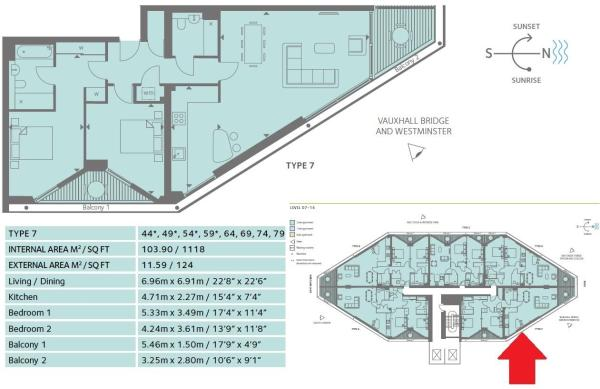 Floor plan and Layou