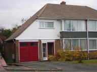 3 bedroom semi detached property to rent in Farrington Road...