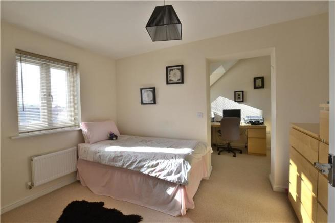 Bedroom 3 to office