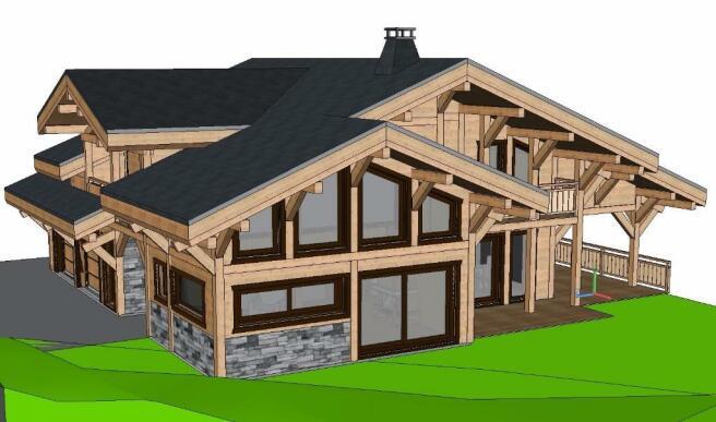 Exterior 3D South