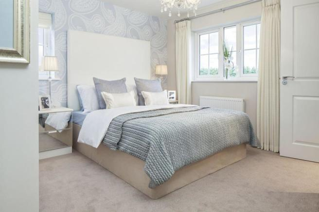 Typical Morpeth master bedroom