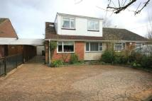 semi detached house for sale in Daventry Road, Barby...