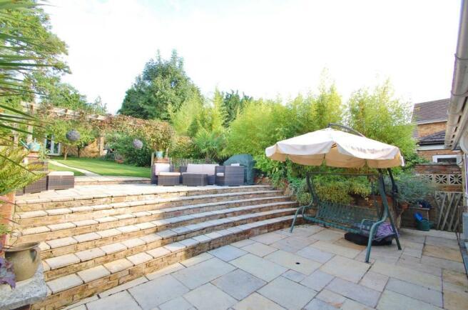 garden stairs