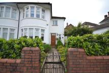 semi detached property in Barons Court Road...