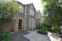 semi detached home for sale in Oakfield Street, Roath...