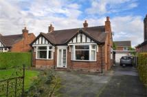 Detached Bungalow for sale in West Road, Weaverham...