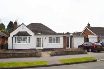 3 bed Detached Bungalow in Barbara Avenue...