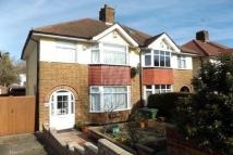 semi detached home for sale in Rochester Way, London...