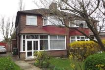 semi detached property in Bushmoor Crescent...