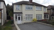 Duncroft semi detached house to rent