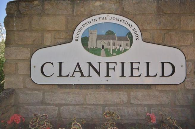 Clanfield Sign