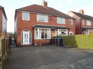 semi detached house in Lowther Place, Leek