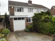 semi detached property for sale in Cauldon Avenue, Leek...
