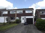 3 bedroom semi detached property for sale in Wetenhall Drive, Leek