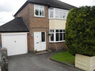 3 bed semi detached property in The Roche, Cheddleton...