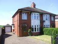 semi detached home for sale in Ostlers Lane, Cheddleton
