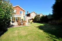 Detached house in Westover Close...