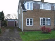 semi detached home in Brookfield Close, Thorne...