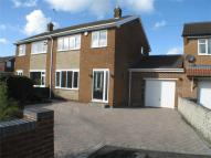 semi detached home in Castle Close...