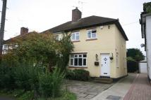 3 bedroom semi detached home in Orchard Lane, Brentwood