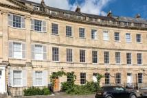 Terraced home in Lansdown Crescent...