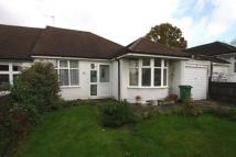 Semi-Detached Bungalow in Chesham Avenue...