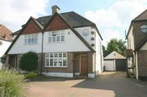 3 bedroom semi detached home in Petts Wood Road...