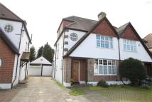 semi detached property in Petts Wood Road...