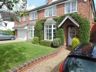 Terraced home for sale in The Meadway, Syston...
