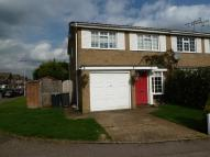 3 bed semi detached property in Scott Close, Ditton,