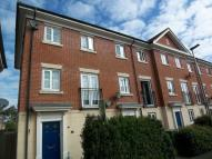 Town House in Burdock Close, Wymondham