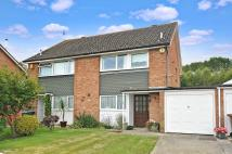3 bedroom semi detached home for sale in Sutton Close, Felpham...