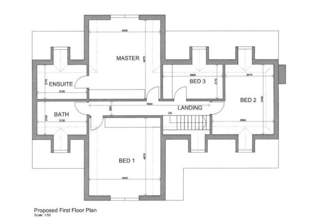 Proposed First Floor