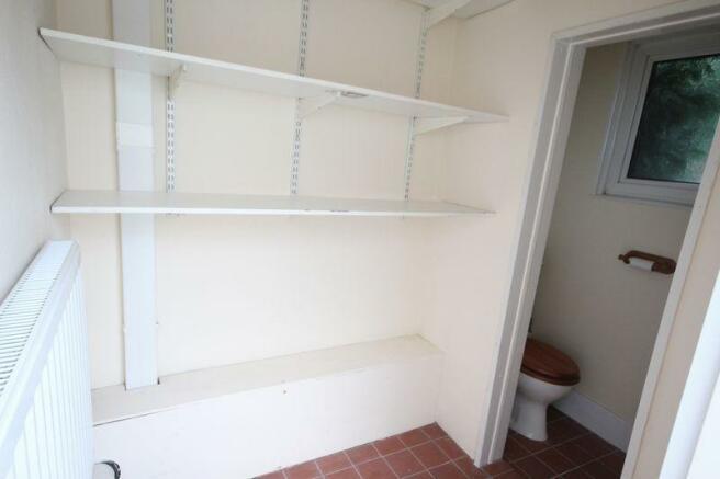 Storage/WC