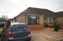 Semi-Detached Bungalow for sale in Burleaze, CHIPPENHAM...