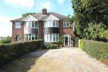 Newbold Road semi detached property for sale