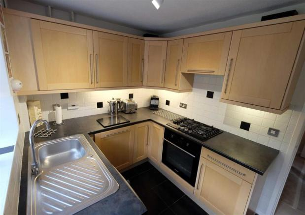 Refitted kitchen to rear