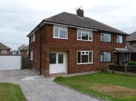semi detached house in Moore Avenue, Thelwall