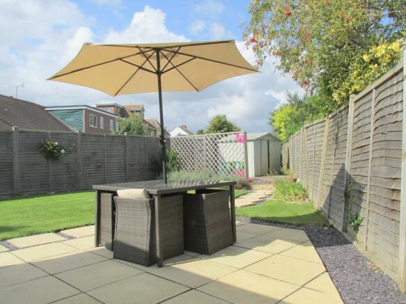 Patio Area/Rear Garden