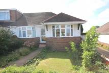 Semi-Detached Bungalow to rent in Larkfield Way, Brighton