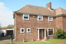 Eastfield Crescent semi detached house for sale