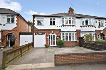 semi detached house in Welford Road, Knighton...