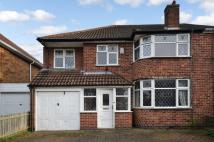 4 bedroom semi detached home in Willow Park Drive...