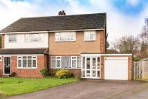 3 bedroom semi detached house for sale in St Johns Close...