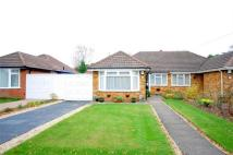 2 bedroom Semi-Detached Bungalow for sale in Whitehouse Crescent...