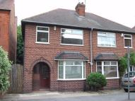 semi detached house in Park Drive, ILKESTON...