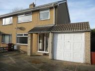 3 bedroom semi detached property in Bank Close, Bolsover...