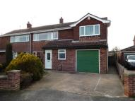 semi detached home in Browning Road, Balderton