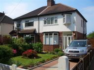 semi detached home to rent in Queens Drive, Heaton Moor