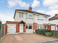 3 bed semi detached property in Westlands Avenue...